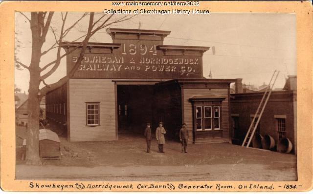 Skowhegan and Norridgewock Electric Railroad, 1894