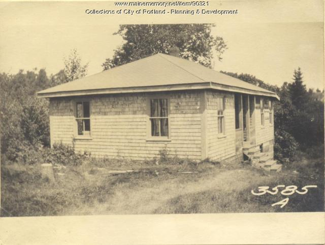 Cushing property, Church Road, Cliff Island, Portland, 1924