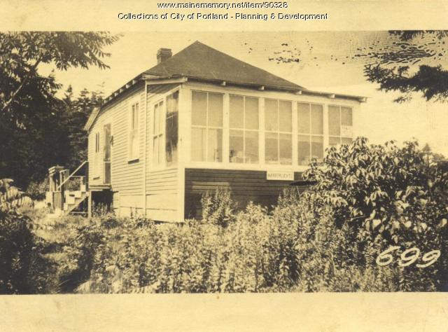 Plummer property, S. Side Edwards Street, Lot 272, Peaks Island, Portland, 1924