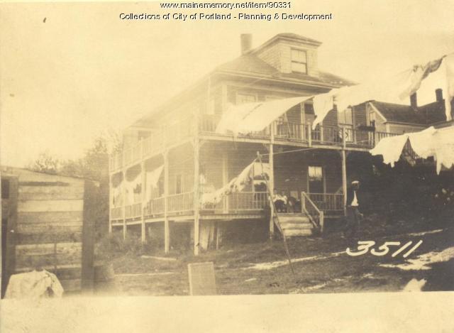 Griffin property, S.E. Shore Street, Cliff Island, Portland, 1924