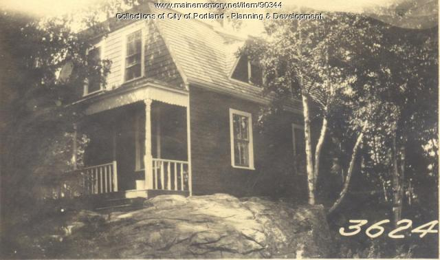 Summer Dwelling, Sunset Road, Portland, 1924