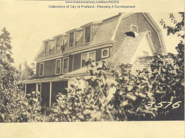 Pettengill property, Sunset Road, Cliff Island, Portland, 1924