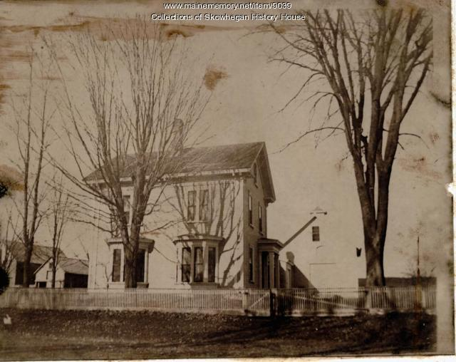Skowhegan home of Roland T. Patten, ca. 1915