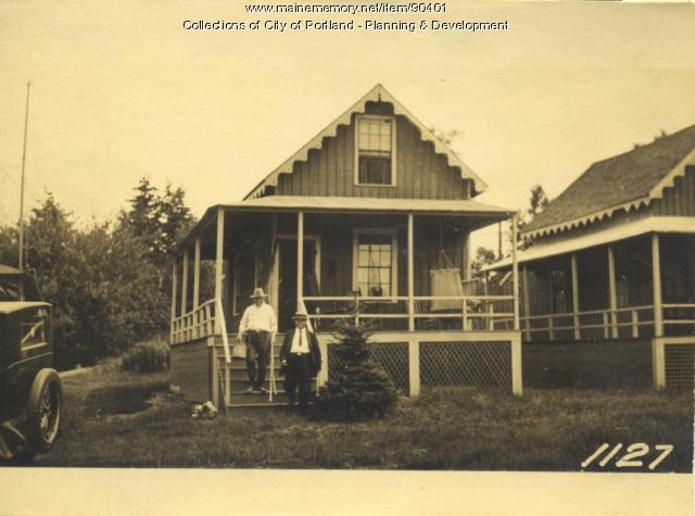 Sterling property, E. Side Cottage Road, Peaks Island, Portland, 1924