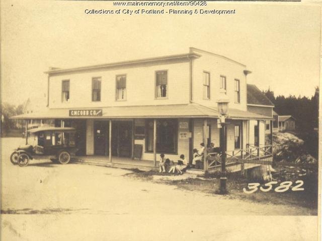 Cobb property, Cliff Island Road, Portland, 1924