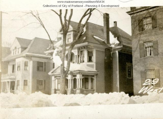 29 West Street, Portland, 1924
