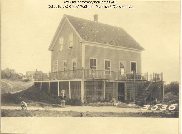 Cushing property, Church Road, Cliff Island, Portland, 1924