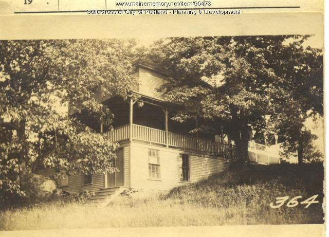 Blanchard property, N. Side A Street, Rear Lots 63-68, Peaks Island, Portland, 1924
