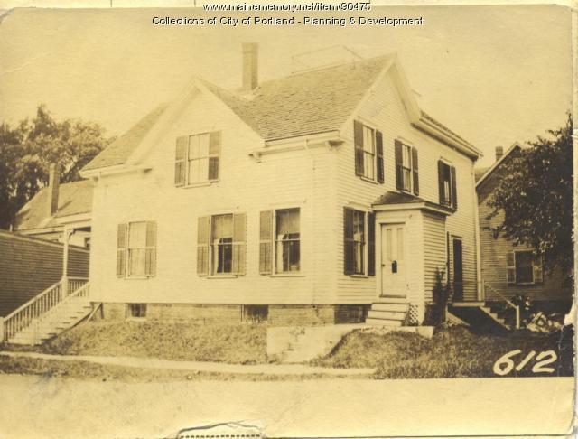 Randall property, N. Side Central Avenue, Peaks Island, Portland, 1924