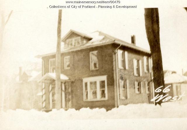 66-68 West Street, Portland, 1924