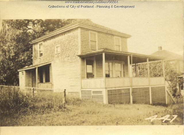Coe property, City Point Road S. side, Peaks Island, Portland, 1924
