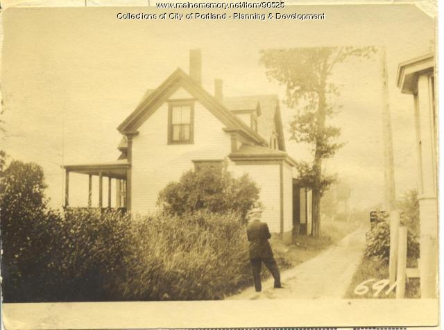 Willam J. Fraser Heirs property, W. Side Centennial Street, Peaks Island, Portland, 1924