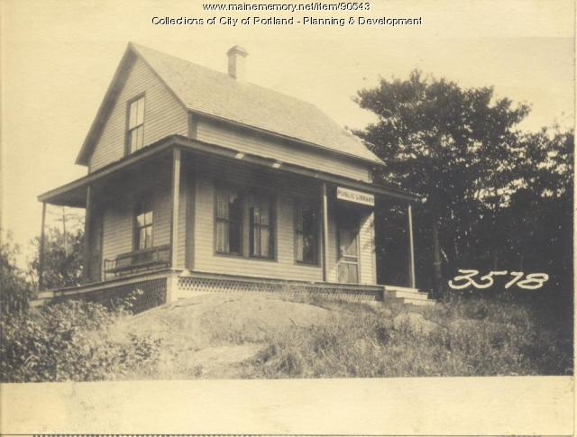 Cliff Island Library Club property, C. I. Road, Sunset Avenue, Cliff Island, Portland, 1924