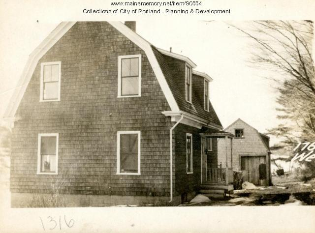 174 Westbrook Street, Portland, 1924