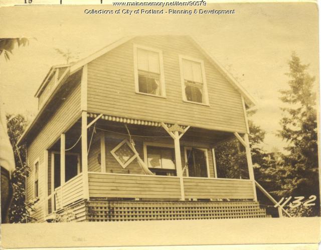 Baker property, Brook Lane, Rear, Peaks Island, Portland, 1924