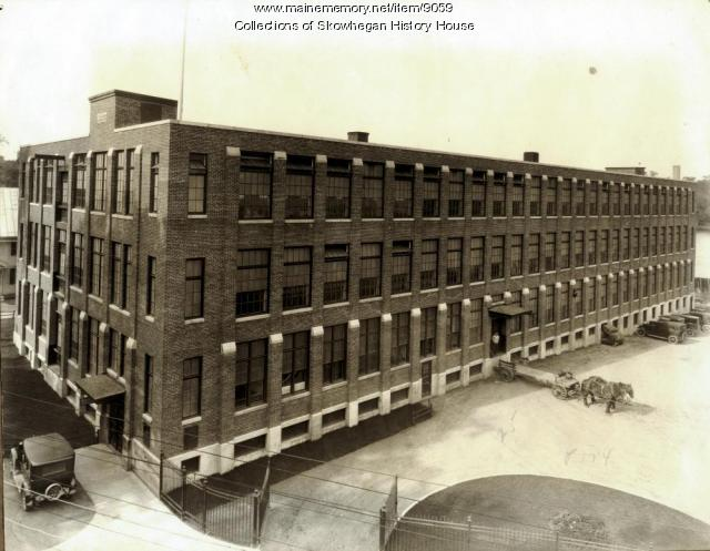 Maine Spinning Company mill, Skowhegan, ca. 1925