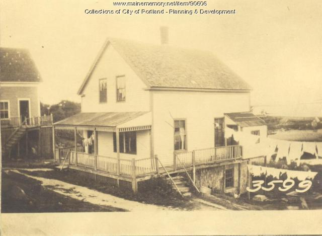 Griffin property, Church Street, Cliff Island, Portland, 1924
