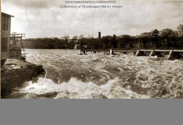 High water of 1923, Skowhegan