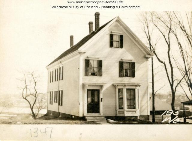 195 Westbrook Street, Portland, 1924