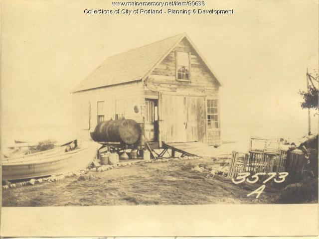 Nickerson property, Church Road, Cliff Island, Portland, 1924