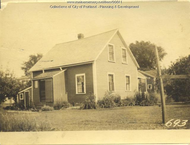 Fisher property, W. Side Centennial Street, Peaks Island, Portland, 1924