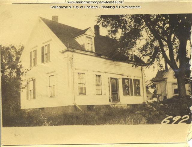 Frellick property, W. Side Centennial Street, Peaks Island, Portland, 1924
