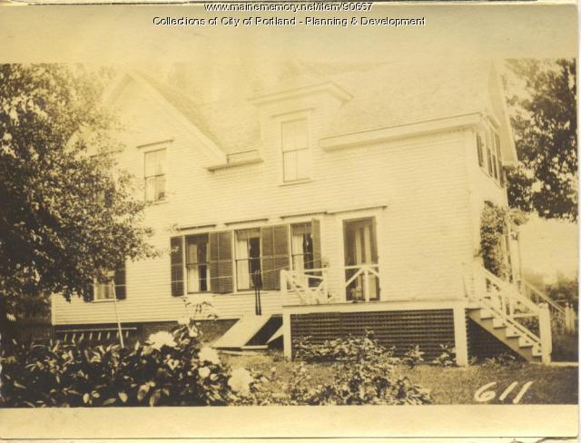 Speed property, N. Side Central Avenue, Peaks Island, Portland, 1924