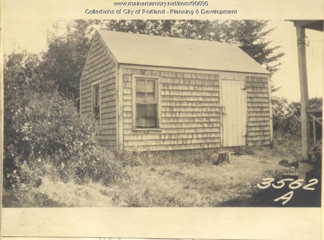 Brackett property, Church Road, Cliff Island, Portland, 1924