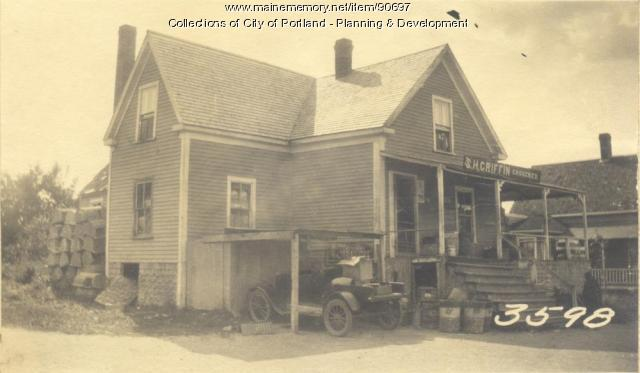Griffin property, Cliff Island Road, Portland, 1924
