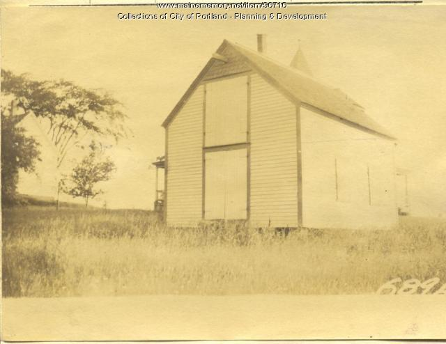 Metcalf property, W. Side Centennial St, Peaks Island, Portland, 1924