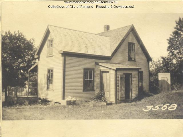 Love property, Church Road, Cliff Island, Portland, 1924