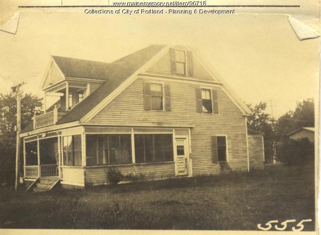 Douglas property, S. Side A Street, Lot 14, Peaks Island, Portland, 1924