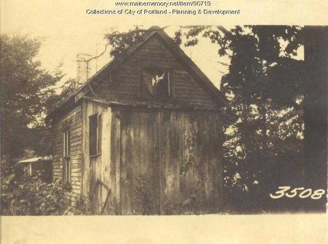 Griffin property, Church Road, Cliff Island, Portland, 1924