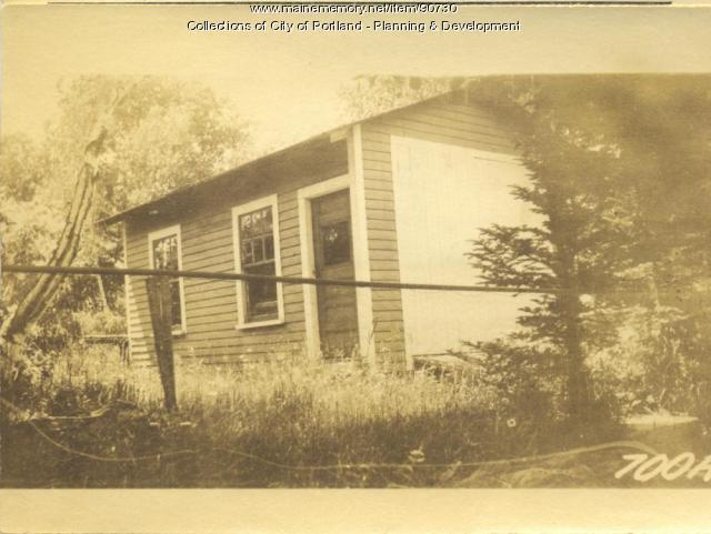 Davis property, S. Side Central Avenue, lot 27, Peaks Island, Portland, 1924