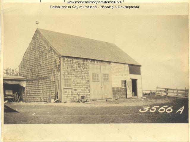 Anderson property, Beach Road, Cliff Island, Portland, 1924
