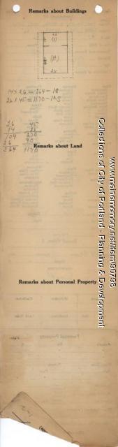First Tenth Twenty-ninth Regiment Association property, Island Avenue, Long Island, Portland, 1924