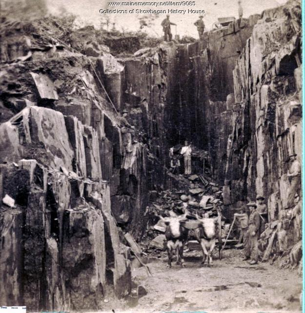 Mayfield Slate Quarry, Skowhegan
