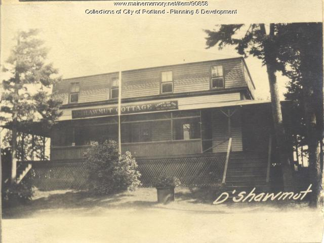 First Tenth Twenty-ninth Regiment Association property, S. Side Island Avenue, Long Island, Portland, 1924