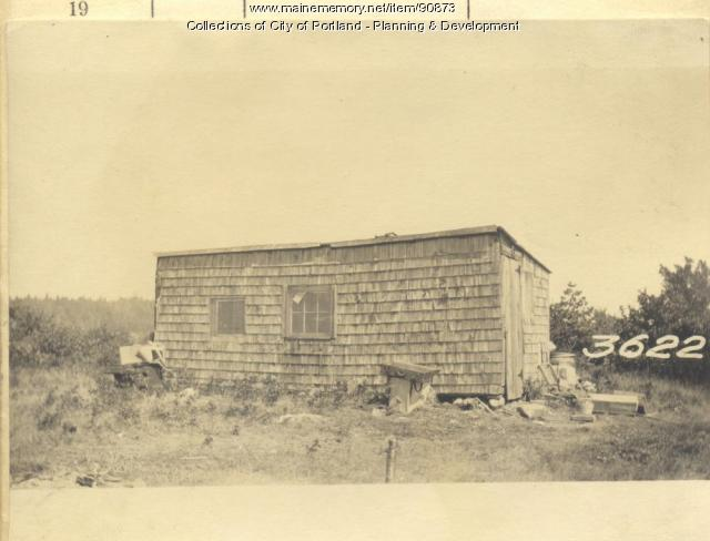 Brown property, S.E. Side Beach Road, Cliff Island, Portland, 1924