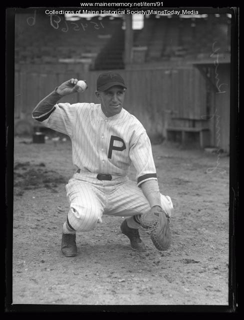 Jimmy (Bud) Knox, Portland, 1927