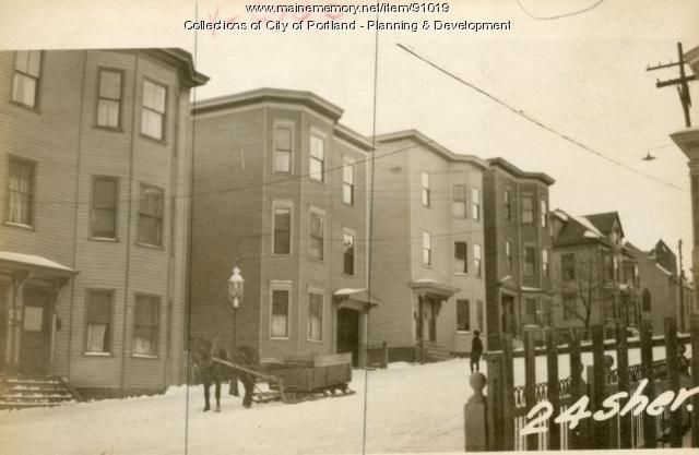 24 Sheridan Street, Portland, 1924
