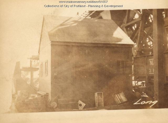 Tool House, Pocahontas Wharf, Portland, 1924