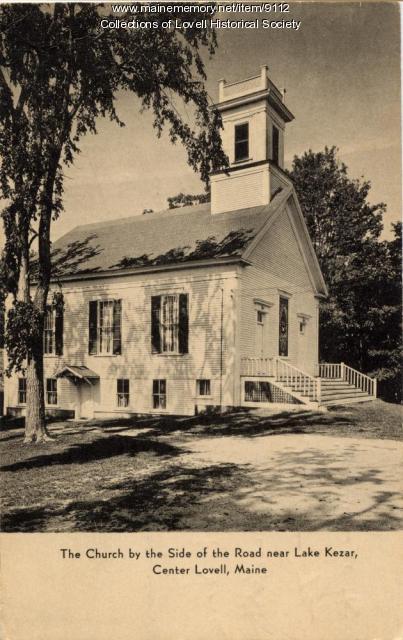 Christian Church, Lovell, 1903