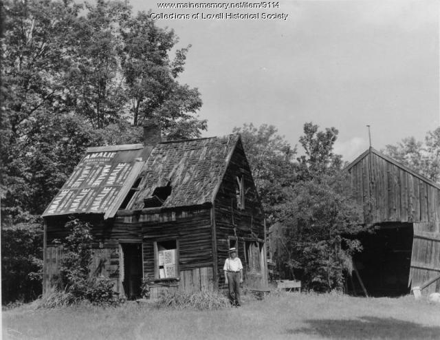 Abandoned home, Lovell,  ca. 1920