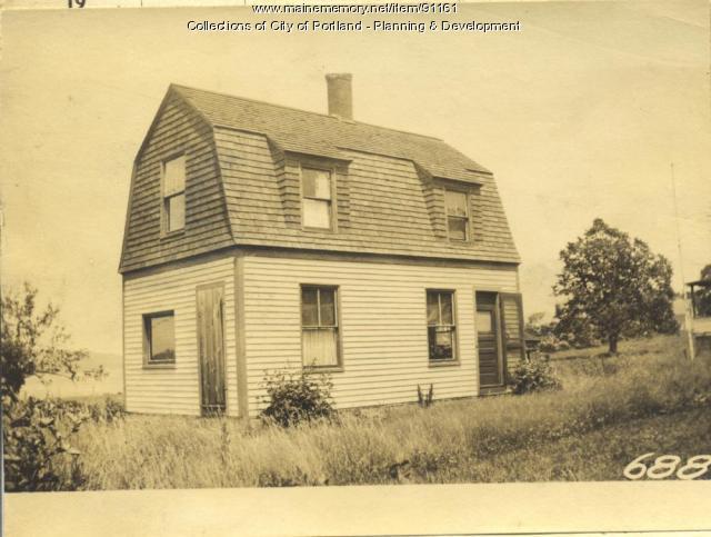 Grant property, E. Side Centennial Street, Peaks Island, Portland, 1924