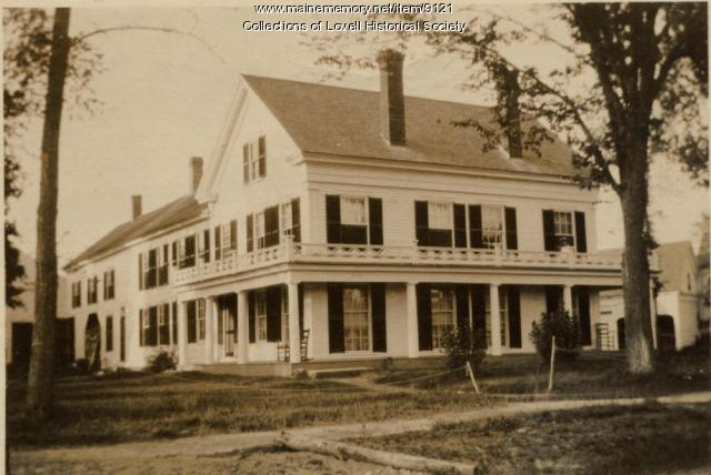 James Walker house, Lovell, ca. 1920