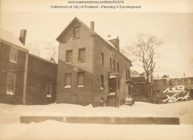 155-159 York Street, Portland, 1924