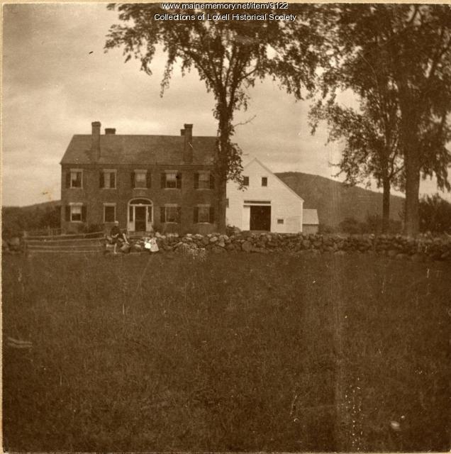 Phineas Eastman house, Lovell, ca. 1900