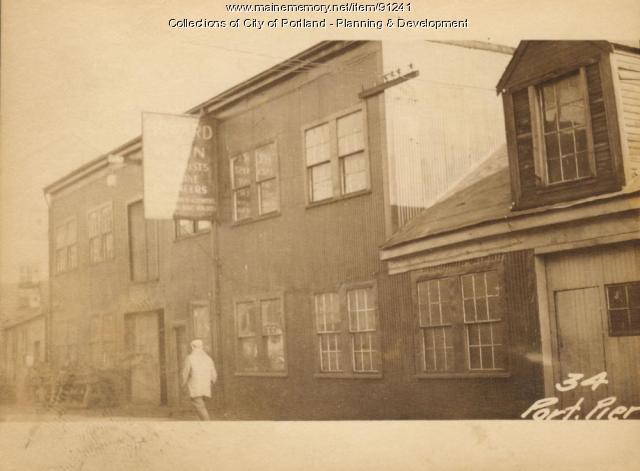 32-38 Portland Pier, Portland, 1924