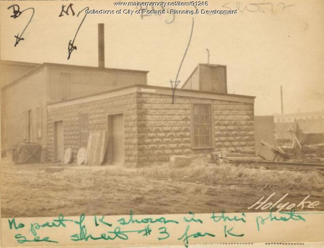 Sleeping Quarters, Holyoke Wharf, Portland, 1924